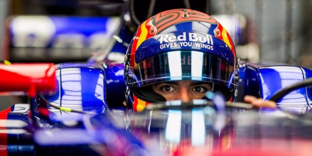 Carlos Sainz Toro Rosso Japón