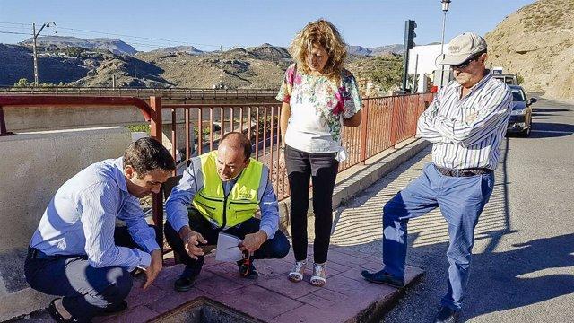 Diputación de Almería renueva la red de abastecimiento en Santa Fe de Mondújar