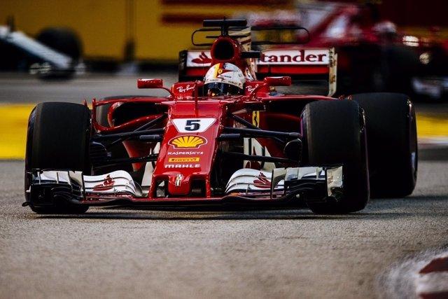 Sebastian Vettel Singapur