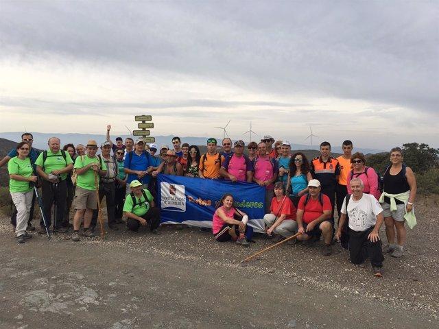 Diputación de Almería completa una etapa más del Sendero GR 140