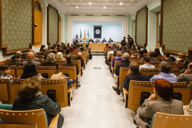 Acto inaugural del curso en la UNED de Almería en 2016