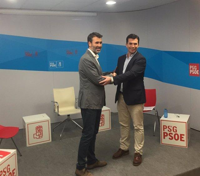 Candidatos a las primarias del PSdeG: Juan Díaz Villoslada y Gonzalo Caballero