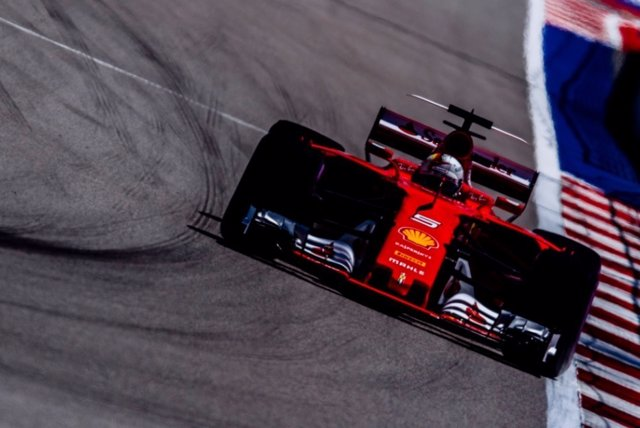 Sebastian Vettel Ferrari Rusia