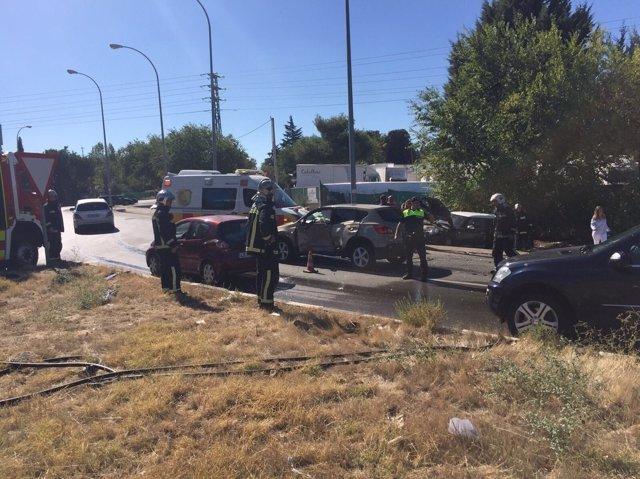 ACCIDENTE EN POZUELO DE ALARCÓN