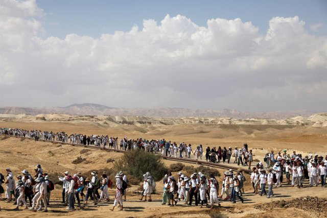 Marcha mujeres israelíes palestinas Jordan