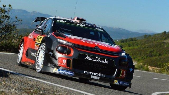 Kris Meeke Citroën Mundial Rally