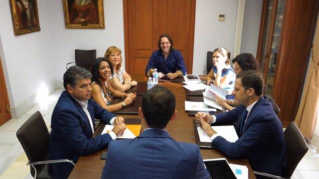 Notas Ayto. Almería (Y2) Reunión Grupo Municipal Pp Ciudadanos / Carolina Lafita