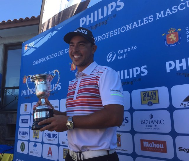 Sebastián García campeón de España Profesional 2017? golf