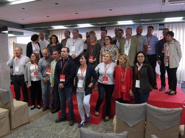 Segovia.- Tudanca, en el congreso del PSOE de Segovia junto a militantes