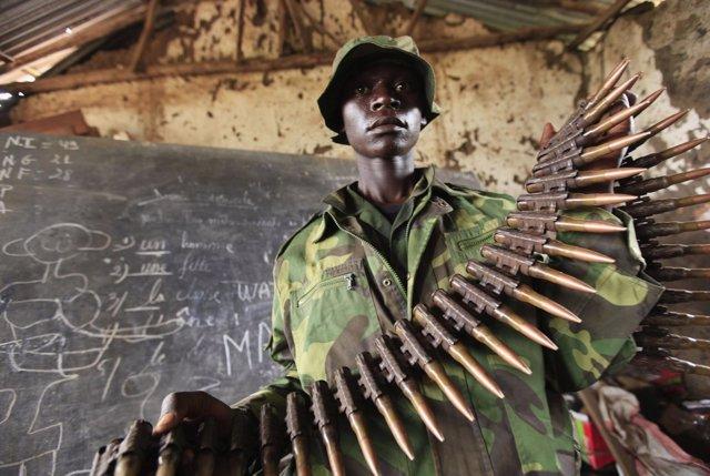 Miliciano en RDC