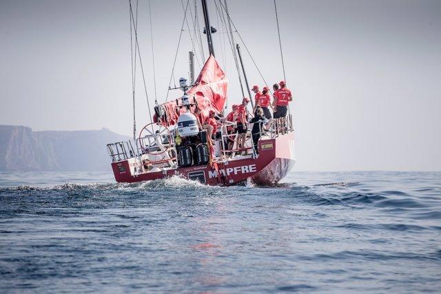 El MAPFRE en la etapa prólogo de la Volvo Ocean Race