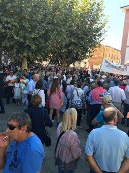 Marcha contra la reforma de la Ley de Salud de Galicia
