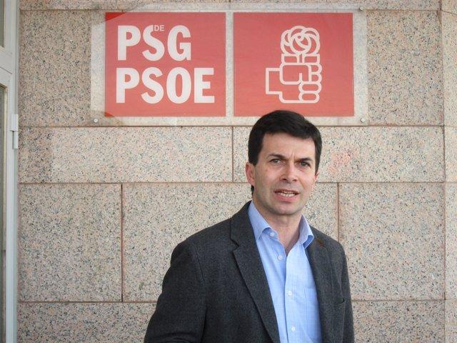 El exconcejal del PSOE en Vigo y líder del sector crítico, Gonzalo Caballero