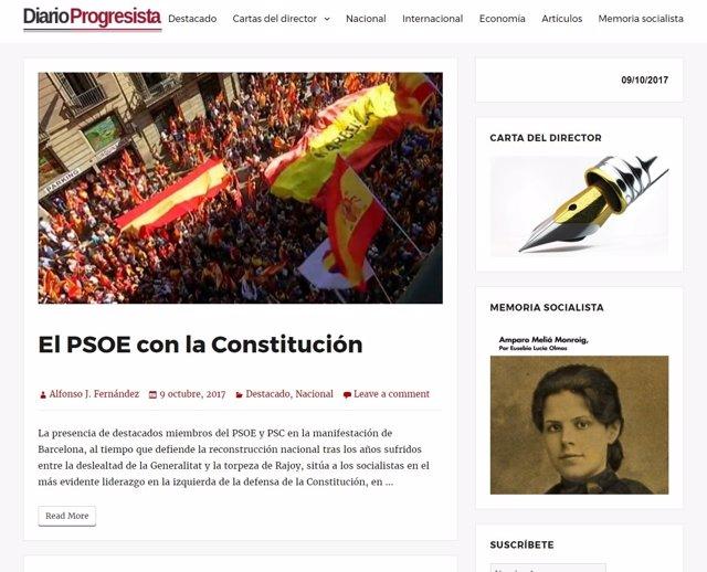 Vuelve Diario Progresista