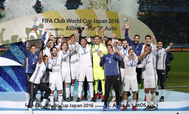 Real Madrid campeón Mundial Clubes Japón