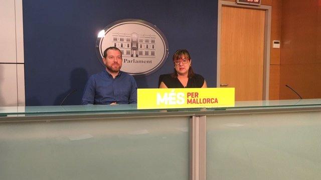 Rueda de prensa de MÉS per Mallorca