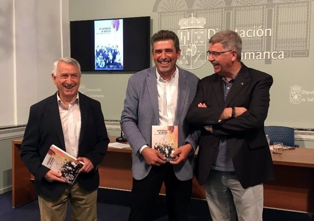 José Luis Martín, Julián Barrera Y Juan Francisco Blanco, De Izquierda A Derech