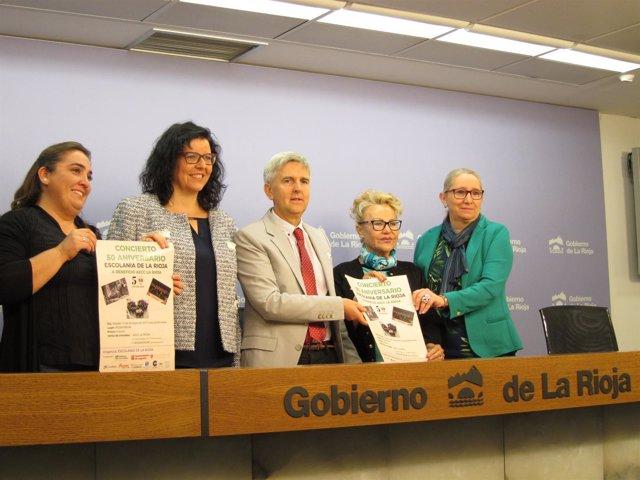 Presentación Concierto Escolanía De La Rioja