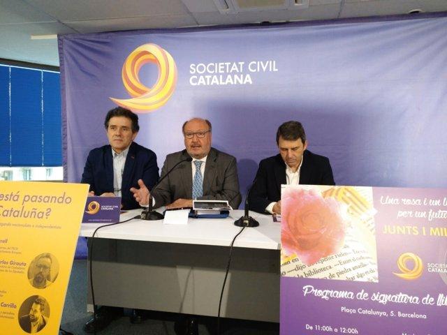 Álex Ramos, Mariano Gomà, José Domingo (SCC)