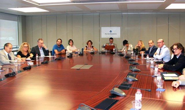 Grupo de Trabajo de Port de Barcelona Efficiency Network