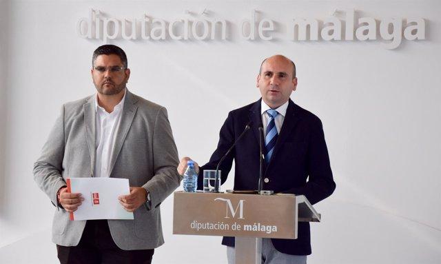 José Antonio González concejal PSOE Mijas y diputado con Conejo