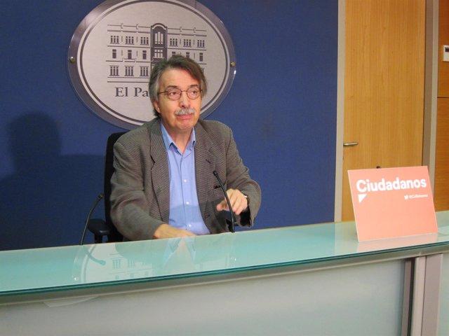 El portavoz de Cs Baleares, Xavier Pericay
