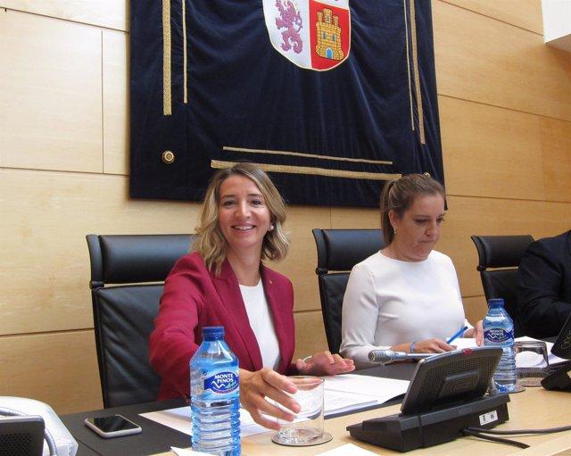 Alicia García comparece en las Cortes