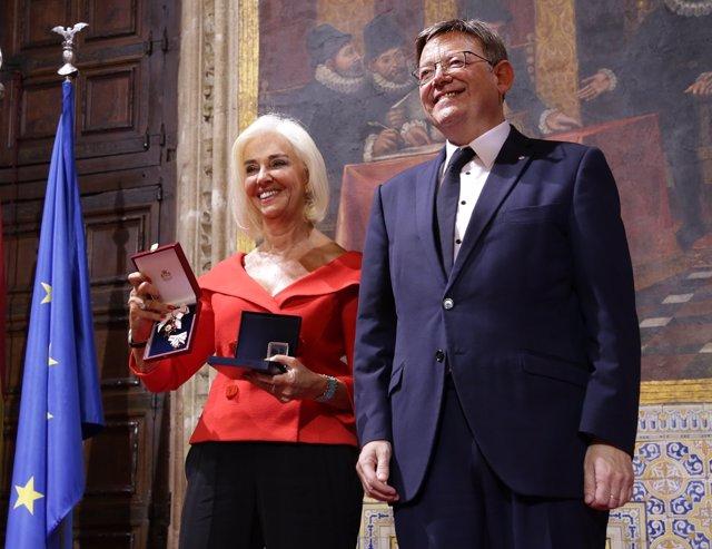 Alta Distinción de la Generalitat a Hortensia Herrero