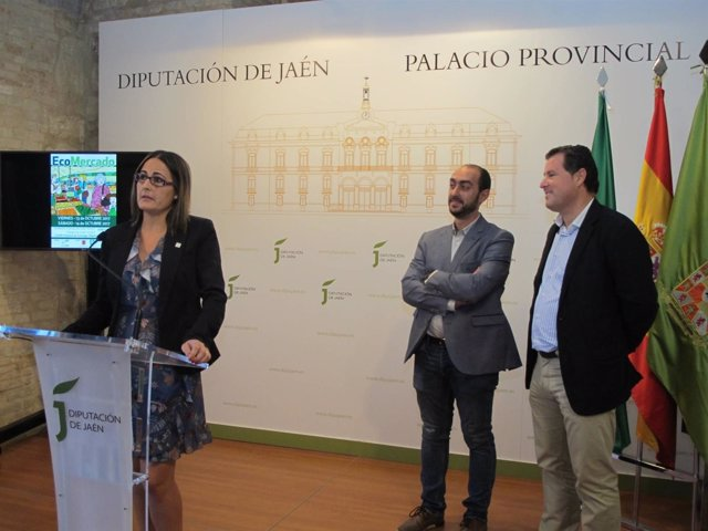 Presentación del Ecomercado de Úbeda.