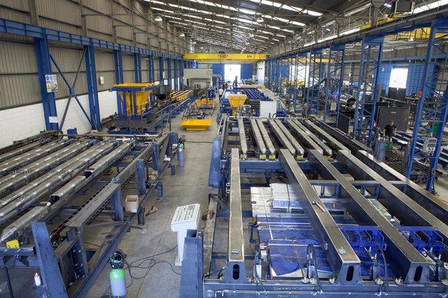 Ampliacion de instalaciones de la empresa sevillana Moldtech