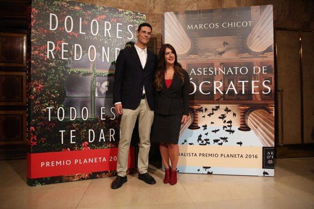 Presentación de las obras ganadoras del premio Planeta 2016