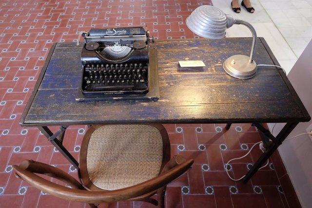 Máquina de escribir de Gerald Brenan en casa churriana