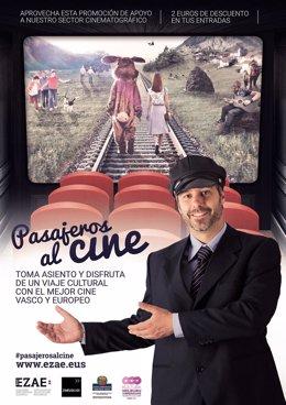 Cartel de Viajeros al cine