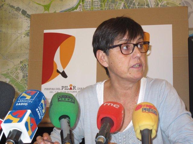 La gerente de Zaragoza-Cultural, Elena Laseca