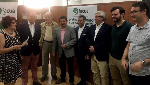 Inauguración de la nueva sede provincial de Facua-Jaén.