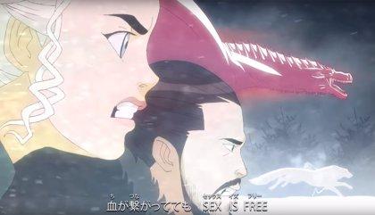 Así de bestial es Juego de tronos en versión anime (VÍDEO)