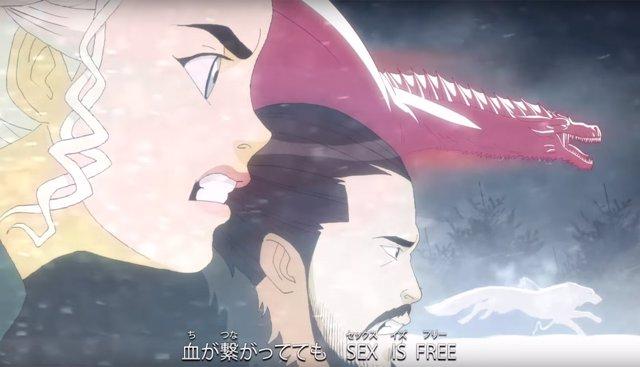 Juego de tronos en versión anime