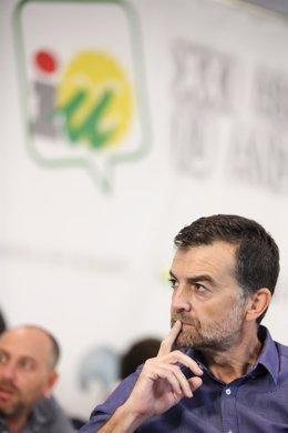 Maíllo, en la XXI Asamblea de IULV-CA
