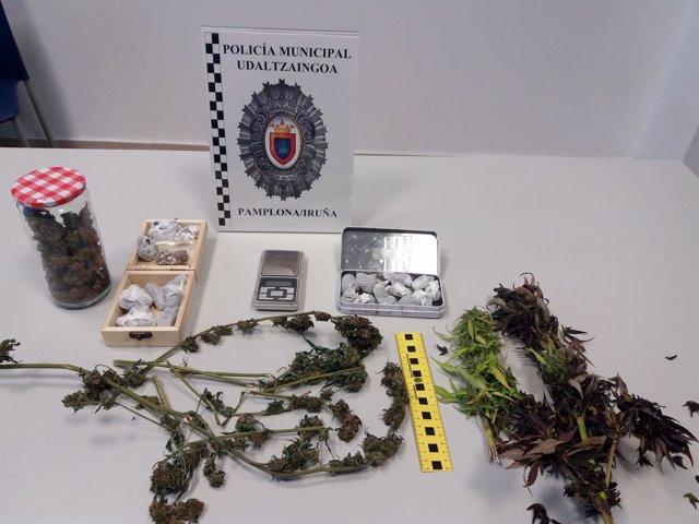 Imagen del registro practicado por Policía Municipal en el domicilio del menor.