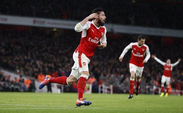 Olivier Giroud, delantero Arsenal
