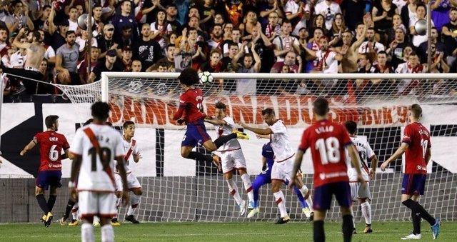 El Rayo cae ante Osasuna