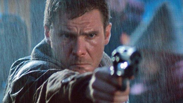 Rick Deckard (Harrison Ford) en Blade Runner