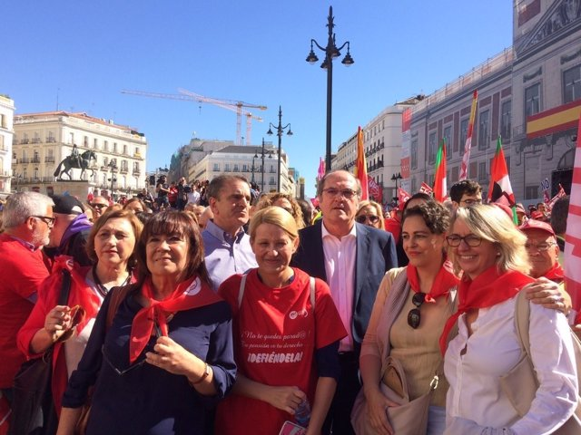 PSOE Franco con Gabilondo y Cristina narbona
