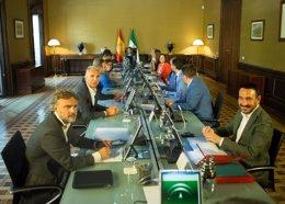 Reunión del Consejo de Gobierno de la Junta