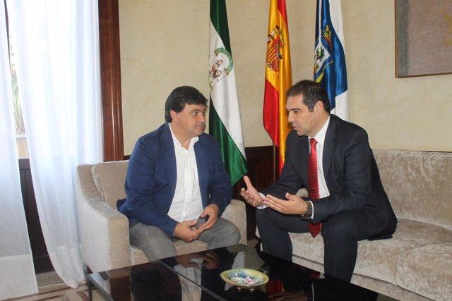 Nota Y Foto Visita Institucional Presidente Del Puerto