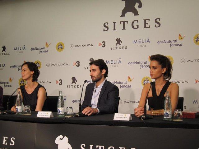 Gabriela de la Garza, Guillermo Amoedo y Vanessa Restr