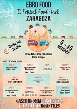 Cartel del Festival Ebro Food