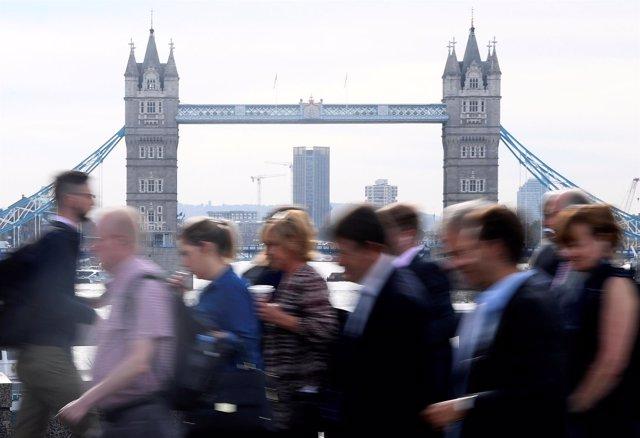 Londres, en una imagen de archivo
