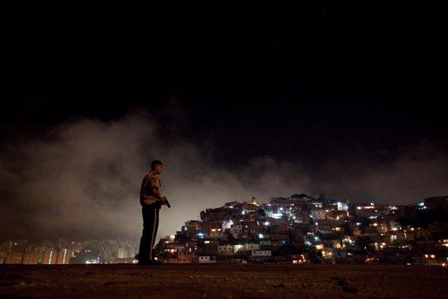 Policía en Caracas, en una imagen de archivo