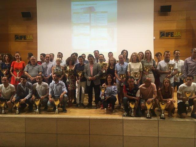 Entrega de premios del circuito de Carreras Populares de la Diputación de Jaén